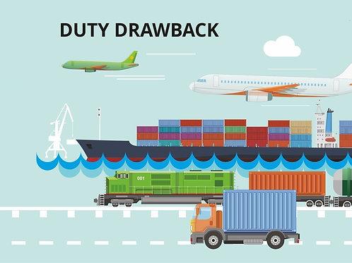 Duty Drawback Simplification