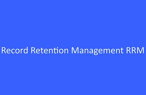 Record Retention Management RRM