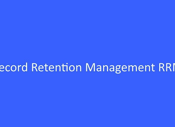 Record Retention Management RRM