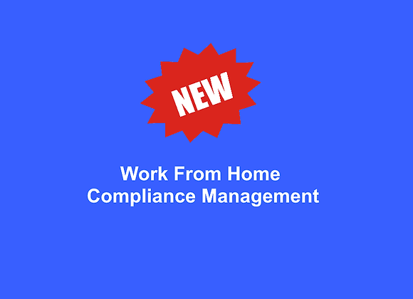 """Virtual ImportComplianceRemote Access  """"WorkfromHome""""ComplianceManagement"""