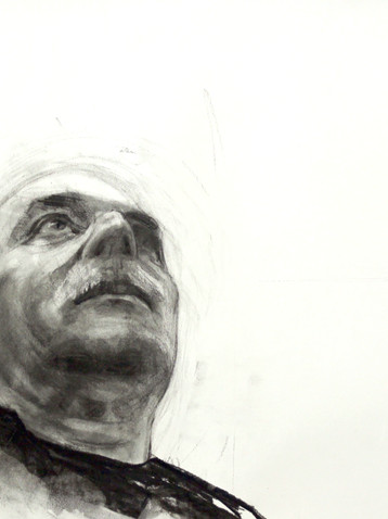 Charcoal on paper 60x80 cm