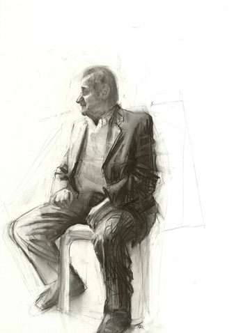 Charcoal on paper 1,50x1,00 m