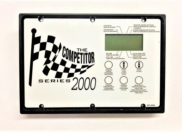 Dritek/Competitor SR 2000 CPU Display w/Decal (Part # D03-0275D)