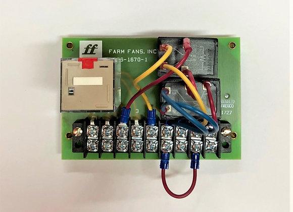 240V Burner Control Board, PL-021 Kit w/Relay (Part # PL-021)