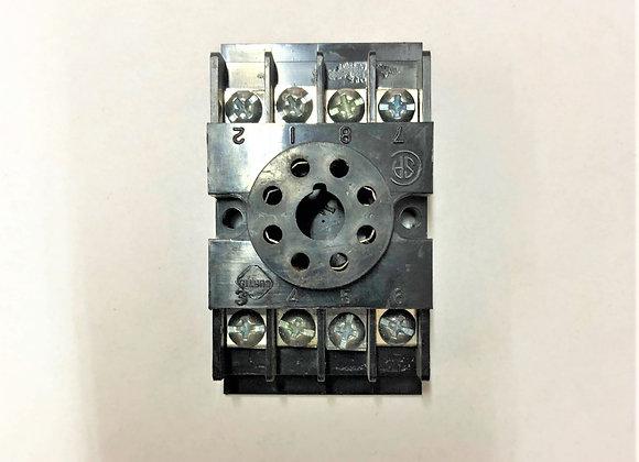 8-Pin Base Socket (Part # 055-1019-3)