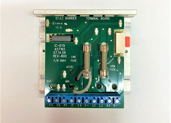 SCR Drive Board Assembly; 3/4hp DC (Part # D03-0104-3/4)
