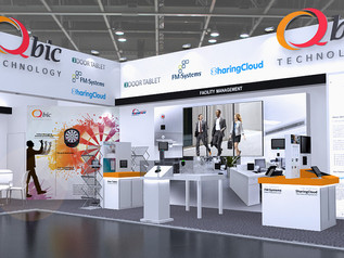 Visit us at ISE 2018, Be the first to discover QBIC's NEW PRODUCT DEBUT !