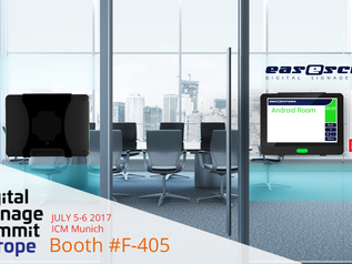 Visit Qbic and easescreen (partner) at the DSSE-2017 show