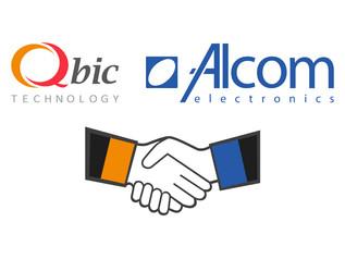 Qbic Technology and Alcom Announce Technology Partnership