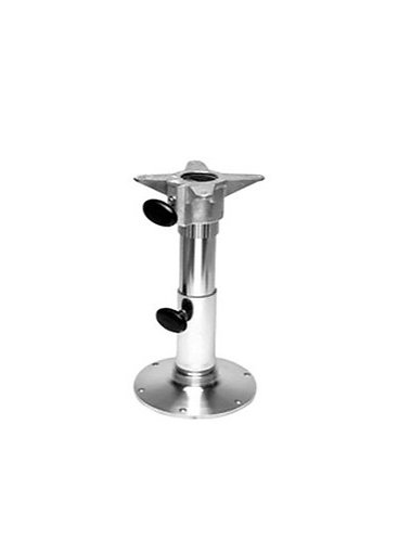 """Garelick 2-7/8"""" Seat Base Pedestal Stanchion with Spider 12""""-17"""""""