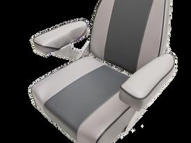 Haxton's Highback Helm boat seat