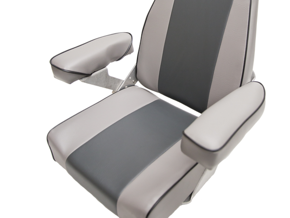 Haxton's Highback Helm boat seat