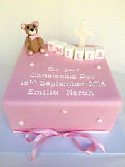 Baby shower cake by Roseberry Cake Creations