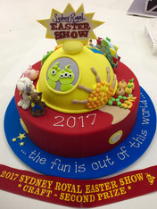 Royal Easter Show Entry 2017 by Roseberry Cake Creations