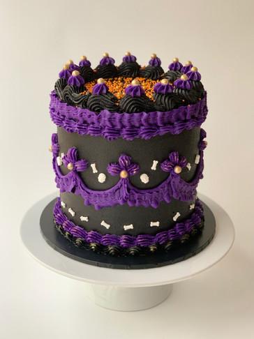 Halloween Cake by Roseberry Cake Creations