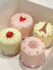 Sweet Mini Cakes by Roseberry Cake Creations