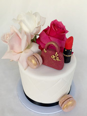 Birthday cake by Roseberry Cake Creations