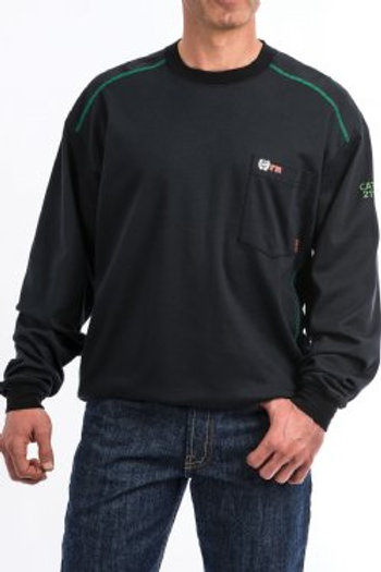 Men's FR Black Long Sleeve Shirt