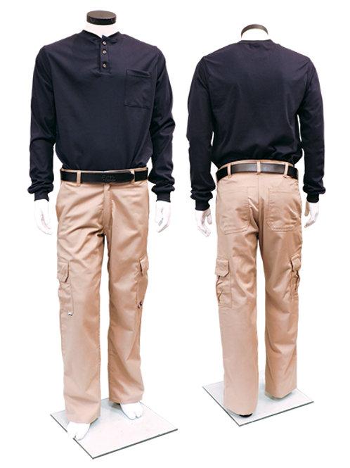 IFR Ultrasoft Henley Long Sleeved Shirt