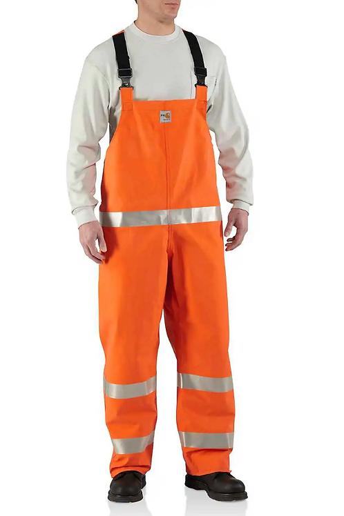 Carhartt Flame Resistant Rainwear Bib Overall