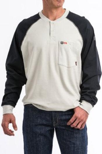 Men's FR Henley Long Sleeve Shirt
