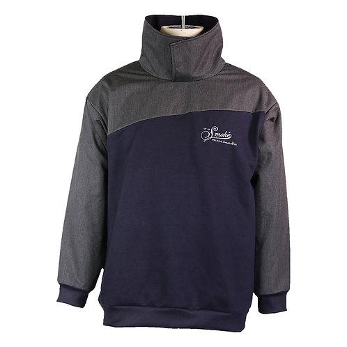 FR Carnifex Fleece Pullover - Navy /Grey