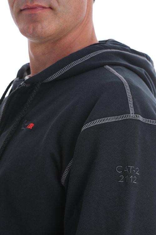 Men's FR Full Zip Hoodie - Black