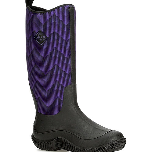 Women's Hale -Purple / Chevron
