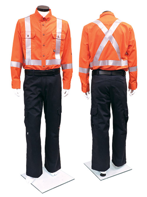 IFR UltraSoft Deluxe Striped Work Shirt
