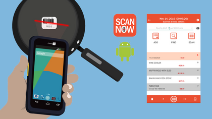 Get ready for your inventory count - free ScanNow app until Dec 30! EXTENDED!