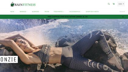 Shopify Success Story: Rain Fitness Boutique