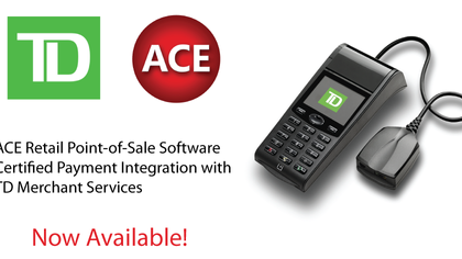 ACE Payment Integration to TD Bank Merchant Services - Now Certified!