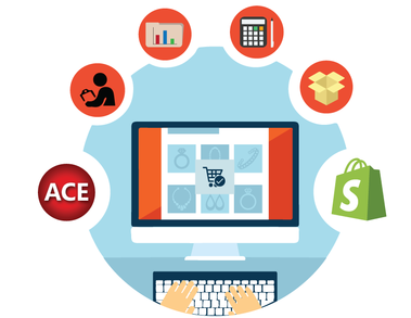 ACE + Shopify = Online and In-Store Sales Success