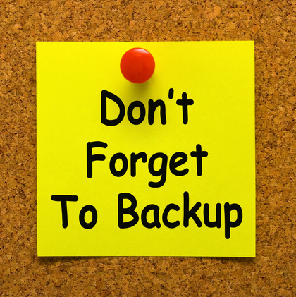 How to Schedule Automatic ACE Back-Ups to Back Up Data