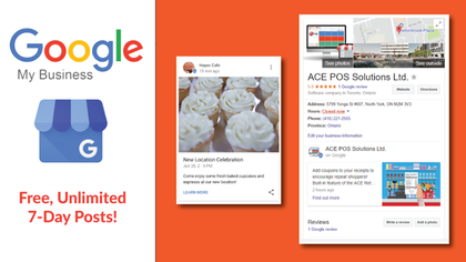 Free marketing tool to stand out on Google Search - Google My Business