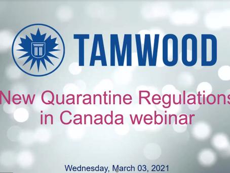 安心入學加拿大學校檢疫規定專案| 泰伍德國際英語學院(TAMWOOD) 0303更新