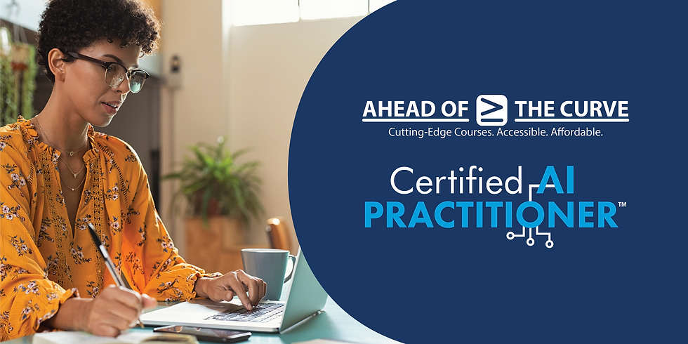 Certified Artificial Intelligence Practitioner (CAIP) In-Classroom