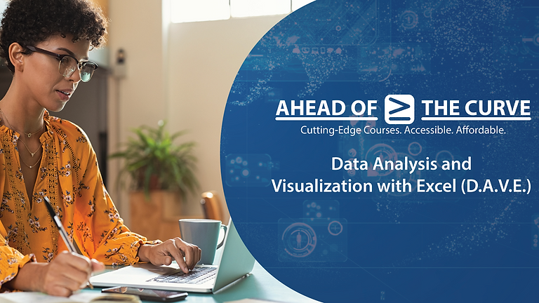 Data Analysis and Visualization with Microsoft Excel (D.A.V.E.)
