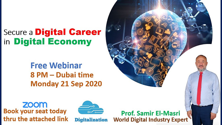 Free Webinar: Digital Career in Digital Economy