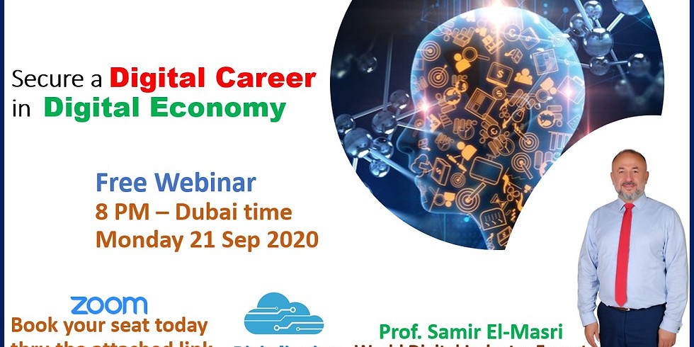 Free Webinar: Digital Career in Digital Economy