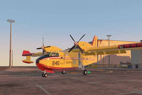 Canadian CL-415 Firefighter