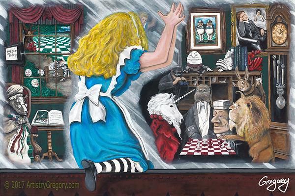 Alice LookingGlass artistrygregory