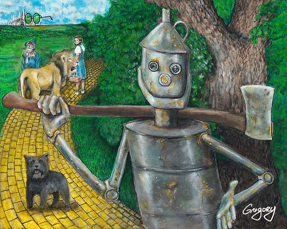 Wizard of Oz featuring TheTin Man 2018 Signed Blue Line Arts.png
