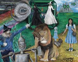 Wonderful World of Oz The Story Signed
