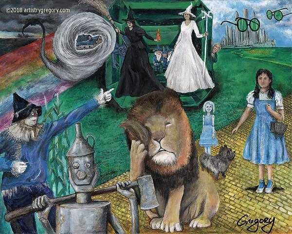 Wonderful World of Oz The Story Signed.p