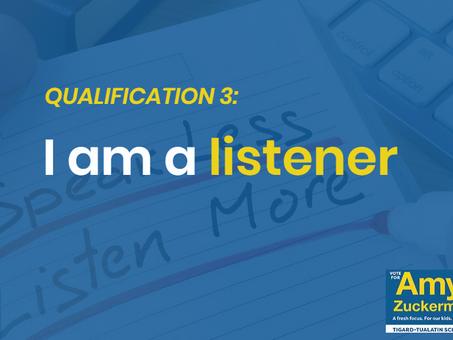 I am a Listener