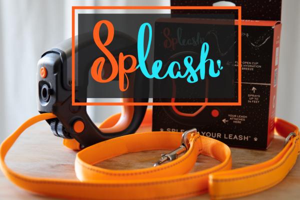 Spleash Leash - Multi-Purpose Dog Leash Handle w/ Water Compartment