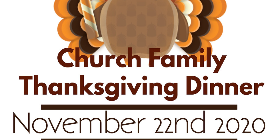 Church Family Thanksgiving Dinner & Chili Cookoff!
