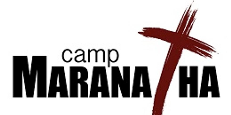 Camp Maranatha Dates