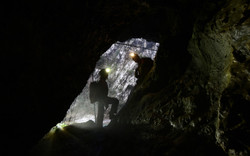 Entrée Grotte de la Mescla - TA